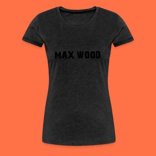 max wood - Women's Premium T-Shirt