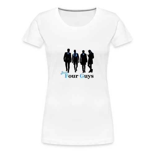 Just Four Guys Teddy - Women's Premium T-Shirt