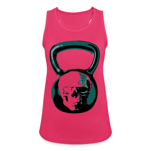 Kettlebell PINK - Women's Breathable Tank Top