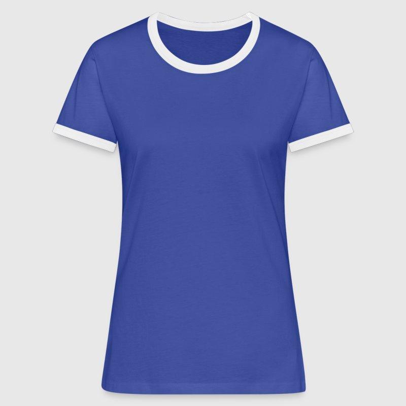 Devinez qui va encore être Grand Mère ! - T-shirt contrasté Femme