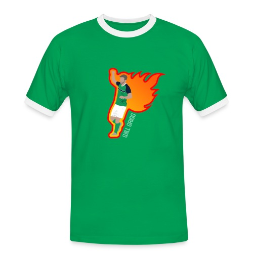 On Fire - Men's Ringer Shirt