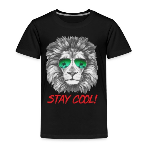 Animal Design Lion Stay Cool - RAHMENLOS Geschenk zum Geburtstag - Kinder Premium T-Shirt