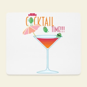 It's Cocktail Time - Tapis de souris (format paysage)