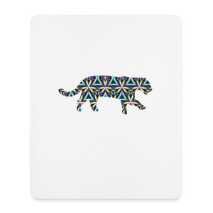 Jaguar Kaleidoscope Design 1 - Mouse Pad (vertical)