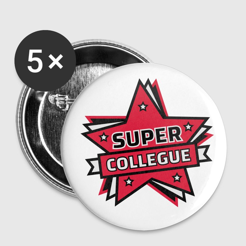 super collègue Badges - Badge moyen 32 mm