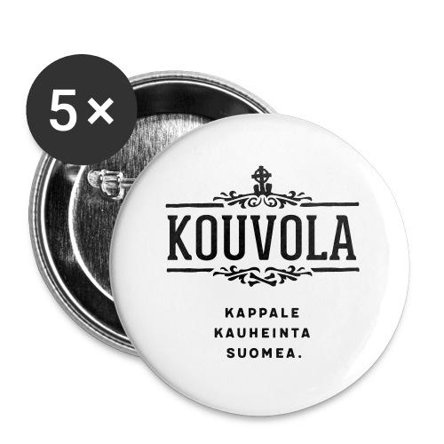 Kouvola - Kappale kauheinta Suomea. - Rintamerkit isot 56 mm