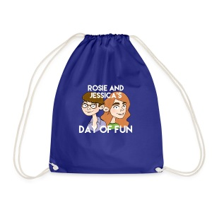Rosie and Jessica's Day of Fun Tote Bag - Drawstring Bag