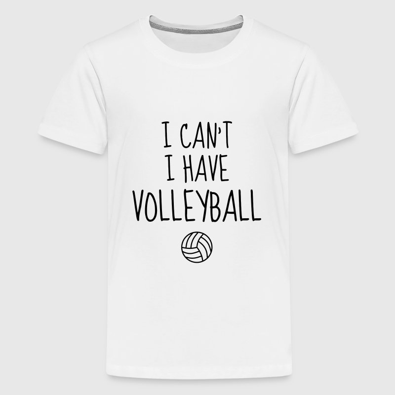 Volleyball - Volley Ball - Volley-Ball - Sport Tee shirts - T-shirt Premium Ado