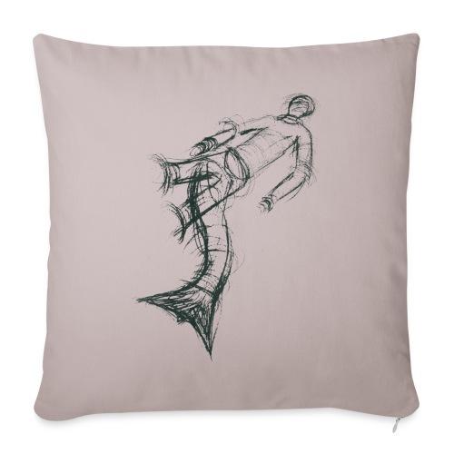 Aquarius - Sofa pillow cover 44 x 44 cm