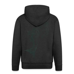 Aquarius - Men's Premium Hooded Jacket