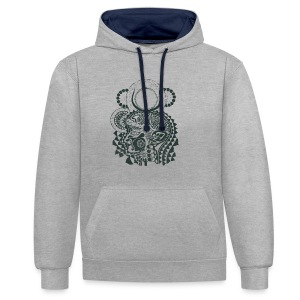 Magdalena - Contrast Colour Hoodie