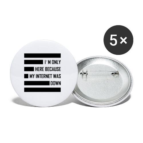st002244 - Confezione da 5 spille media (32 mm)