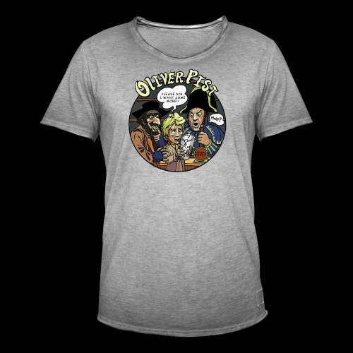 Oliver Pissed - Men's Vintage T-Shirt
