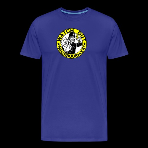 Neighbourhood Watch Out! - Men's Premium T-Shirt