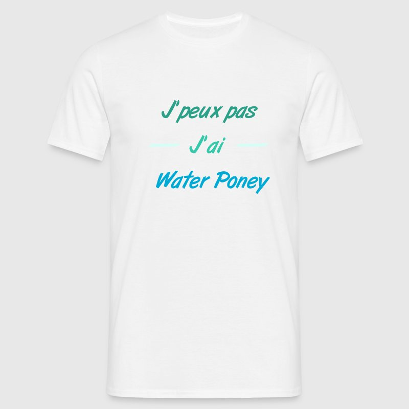 Water-Poney - T-shirt Homme