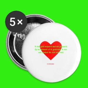 Een student - Buttons klein 25 mm