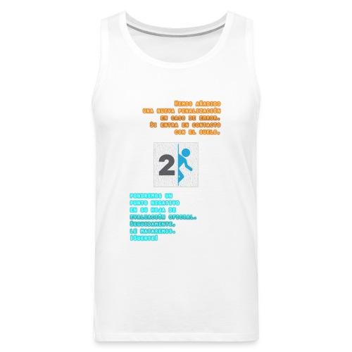 Portal T-Shirt - Tank top premium hombre
