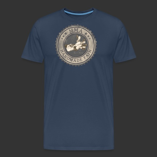 MMA -retro - Männer Premium T-Shirt