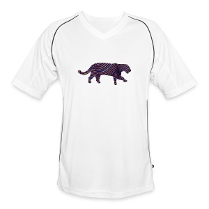Jaguar in Stripes - Men's Football Jersey