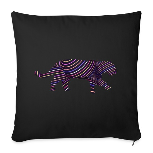 Jaguar in Stripes - Sofa pillow cover 44 x 44 cm
