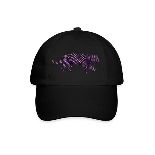 Jaguar in Stripes - Baseball Cap