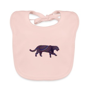 Jaguar in Stripes - Baby Organic Bib