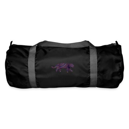 Jaguar in Stripes - Duffel Bag