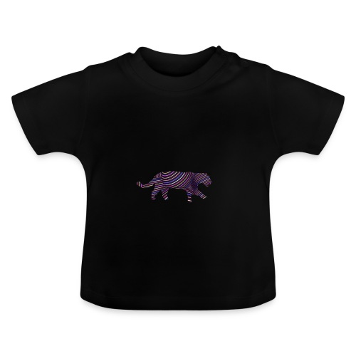 Jaguar in Stripes - Baby T-Shirt