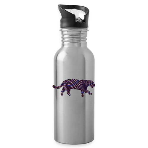 Jaguar in Stripes - Water Bottle