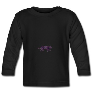 Jaguar in Stripes - Baby Long Sleeve T-Shirt