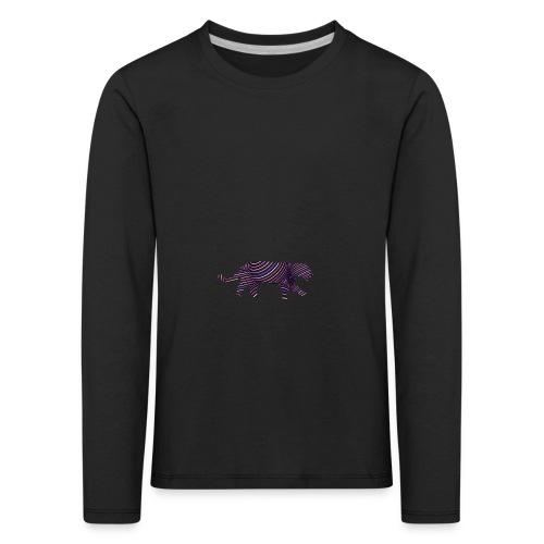 Jaguar in Stripes - Kids' Premium Longsleeve Shirt
