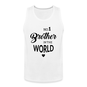 No.1 Brother - Männer Premium Tank Top