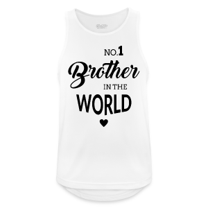 No.1 Brother - Männer Tank Top atmungsaktiv