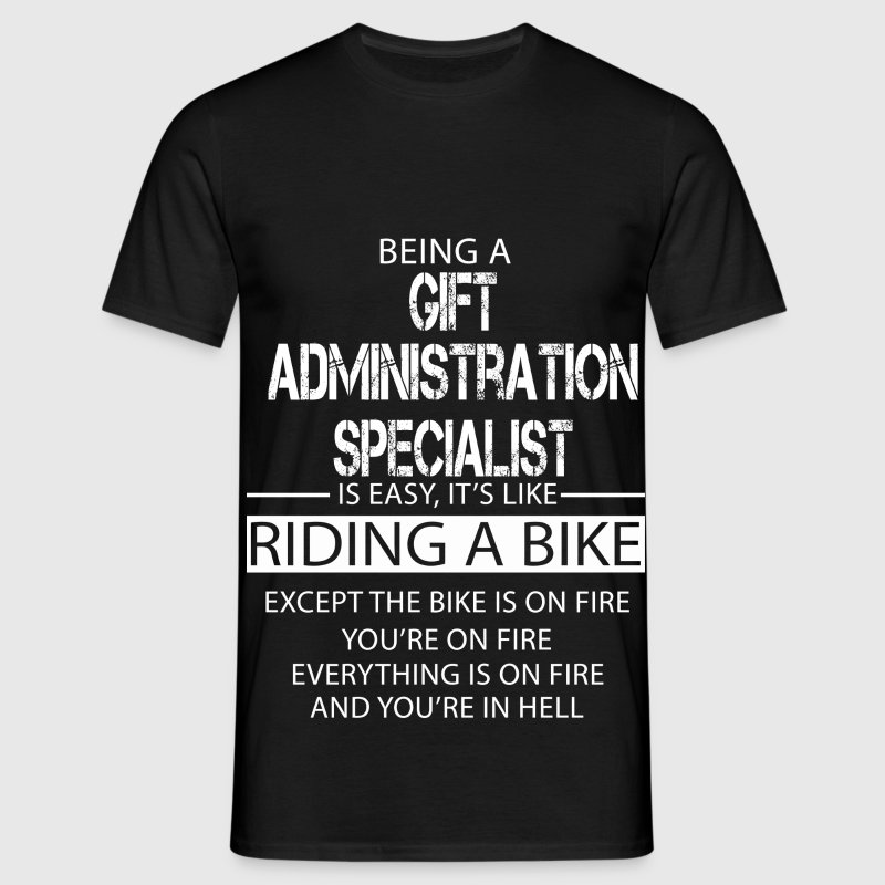 Gift Administration Specialist T-Shirts - Men's T-Shirt