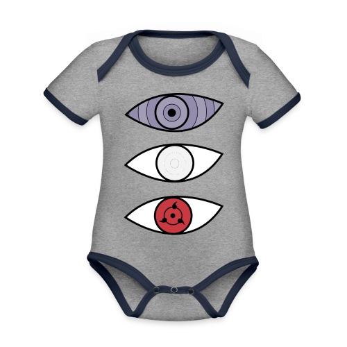 Doujutsus - Body contraste para bebé de tejido orgánico