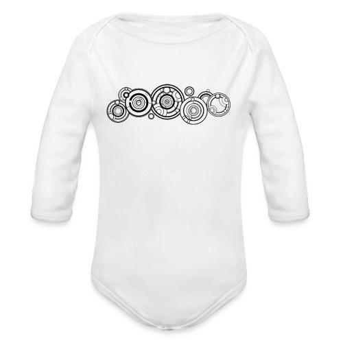 Gallifrayan - Organic Longsleeve Baby Bodysuit