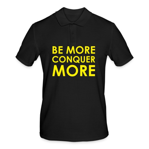 Men's T-Shirt - Black - Men's Polo Shirt