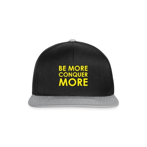 Men's T-Shirt - Black - Snapback Cap