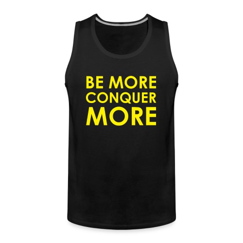 Men's T-Shirt - Black - Men's Premium Tank Top