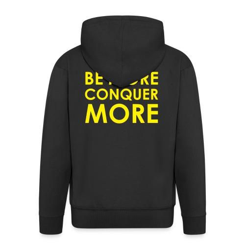 Men's T-Shirt - Black - Men's Premium Hooded Jacket