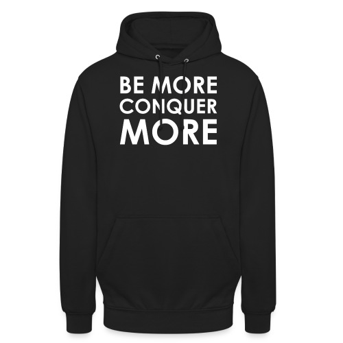 Men's T-Shirt - Black - Unisex Hoodie