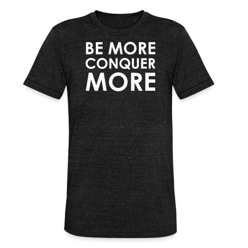 Men's T-Shirt - Black - Unisex Tri-Blend T-Shirt by Bella & Canvas