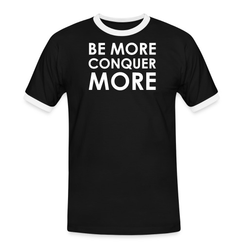 Men's T-Shirt - Black - Men's Ringer Shirt