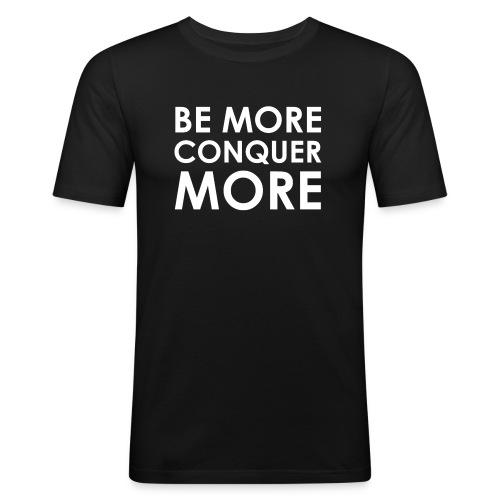 Men's T-Shirt - Black - Men's Slim Fit T-Shirt