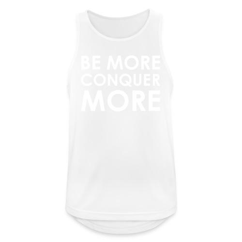 Men's T-Shirt - Black - Men's Breathable Tank Top