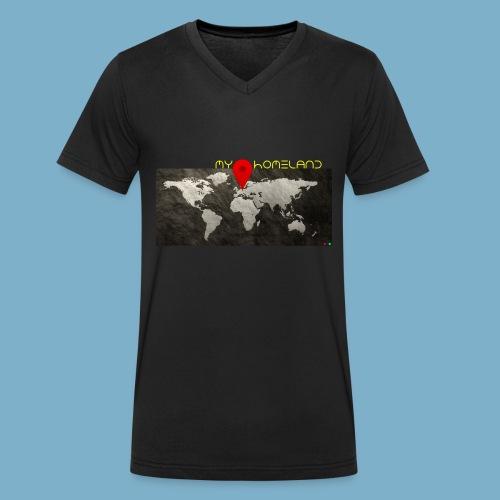 Homeland motiv  - Männer Bio-T-Shirt mit V-Ausschnitt von Stanley & Stella