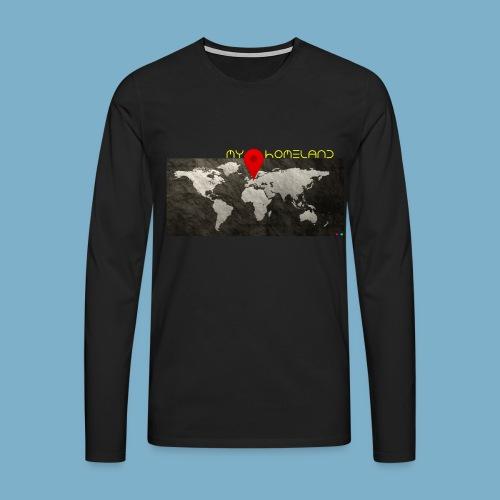 Homeland motiv  - Männer Premium Langarmshirt