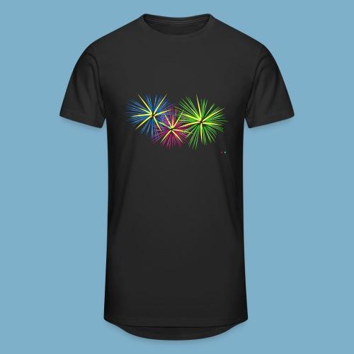 Fireworks Feuerwerk - Männer Urban Longshirt