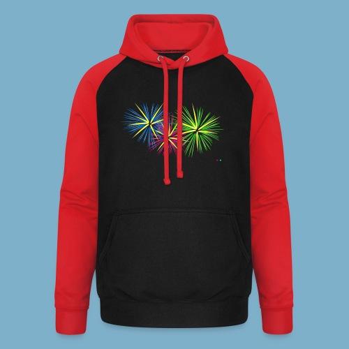 Fireworks Feuerwerk - Unisex Baseball Hoodie