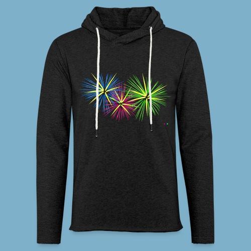 Fireworks Feuerwerk - Leichtes Kapuzensweatshirt Unisex